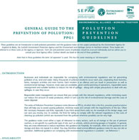 Pollution Prevention Guidelines