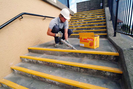 Concrete Repair And Protection Resin Flooring Wall