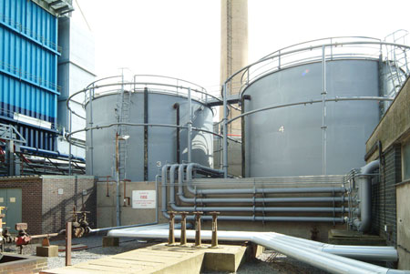 industrial fuel oil tanks bund lining containment in the oil gas petrochemical industries